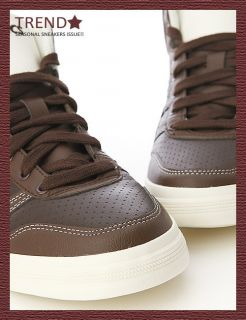BN ASICS AARON MT LE DX Brown/Brown Shoes #24