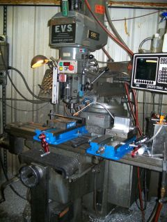South Bend Lathe 2 Axis CNC Proto Trak MX2 5 HP Vertical Mill, Milling