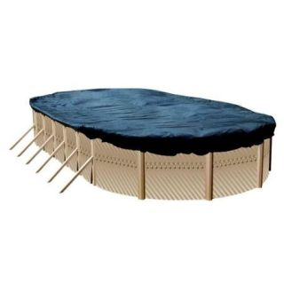 16x25 Blue Winter Oval Above Ground Swimming Pool Cover
