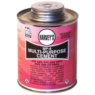 Harvey 018000 24 Wm Co 4 oz MP 6 Multi Purpose Cement Clear
