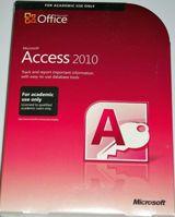 Microsoft Access Office 2010 Full Version AE Edition Retail Box