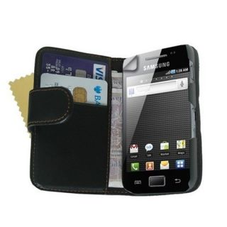 Wallet Flip Case Cover Pouch for Samsung S7500 Galaxy Ace Plus