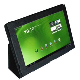 Acer Iconia stand folio PU leather case cover for Acer Iconia a500