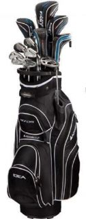 Adams Golf A7OS A7 OS Package Set Golf Clubs with Bag Headcovers and