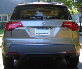 Acura MDX Rear Bumper Chrome Molding Trim 07 08 09
