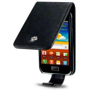 Flip Case for Samsung Galaxy Ace Plus S7500 Black Pink Purple