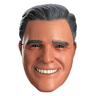 mitt romney vacuform mask adult accessory includes one adult mask note