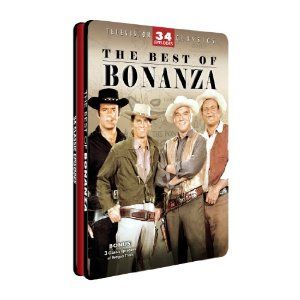 The Best of Bonanza DVD 2010 4 Disc Set Tin Case New