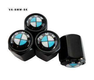 AGT 4pcs Black Aluminum Valve Caps Stem Tire Cap For E36 E39 E46 E90