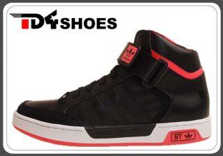 Adidas Varial Mid St Originals Black White Turbo 2011 Mens Skate Shoes