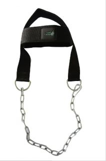 Gym Weight Lifting Head Neck Strength Harness Strap