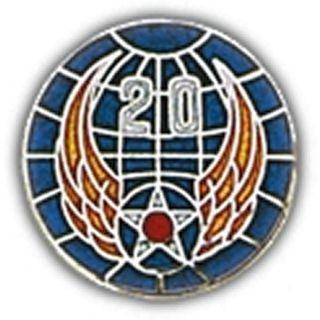 20th Air Force Pin US Air Force 20th Air Force Round Hat or Lapel Pin