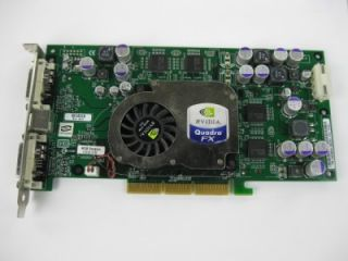 NVIDIA Quadro FX P128 FX 1000 128MB Video Graphics Card Tested