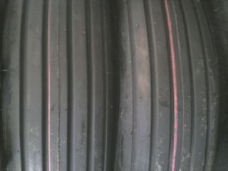 Two 600x16 6 00 16 Rib Implement Farm Tractor Tires w Tubes Disc do