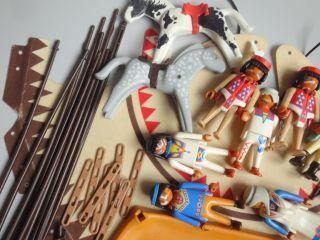 Playmobil Tippi Indianer Zelt Mit 7 Figuren Zubehör