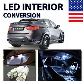 Agt™ Xenon White Interior LED Package Kit for BMW x6 18 Pcs Kit
