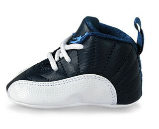 Nike Baby Air Jordan Retro 12 (XII) Obsidian Gift Pack Infant Size 3C