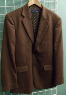Alan Flusser Mens Wool Blazer Jacket Large 46 Regular