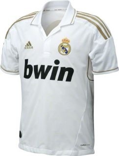 Real Madrid Football Club Youth Adidas Soccer Home Jersey