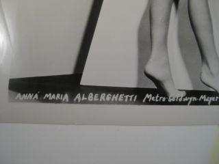 Anna Maria Alberghetti Striking A Sultry Pose SH14