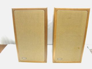 The Advent Loudspeaker Set of 2 Vintage Speakers