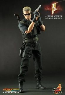 Hot Toys VGM10 Biohazard 5 Albert Wesker Stars Ver Box Set