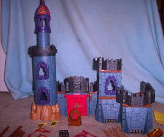 Fisher Price Imaginext System Battle Castle Fortress Building Parts