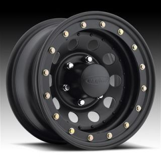 Wheel 904 Series Stealth Modular Beadlock Black Wheel 15 x8 5x4 75 BC