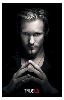 True Blood Eric Northman Scary TV Series Poster Print Limited Very