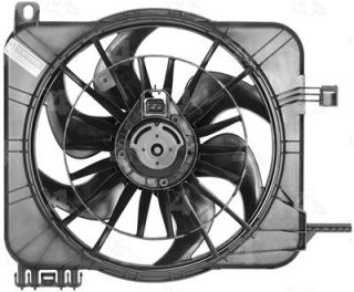 Four Seasons Radiator Fan Motor Assembly Single 75234