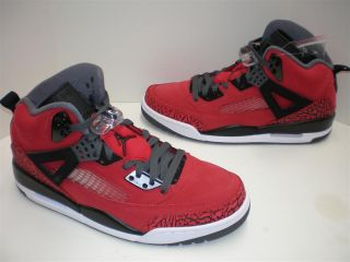NIB Mens Nike Air Jordan Spizike Raging Bull Gym Red Black Dark Grey