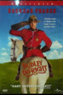 DUDLEY DO RIGHT (1999) BRENDAN Fraser SARAH Jessica Parker ERIC Idle