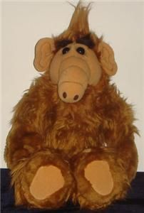 Vintage Talking ALF Alien 1986 Coleco 18 Stuffed Plush Character Doll