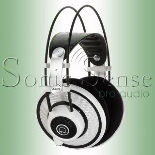 AKG Q701 Quincy Jones Headphones White Q 701 New Factory SEALED Extnd