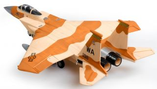 New RC F 15 Fighter Jet ARF Brushless Motor ESC Plane