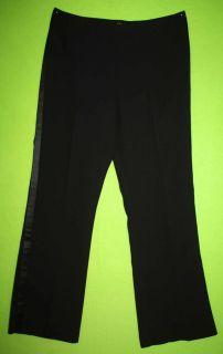 Alex Marie Sz 16 Womens Black Dress Pants Slacks 5S69
