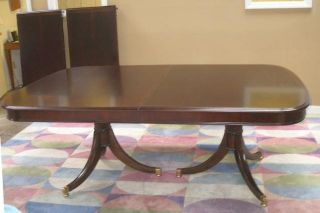 Thomasville Furniture Brompton Hall Pedestal Dining Table 0 SHIP