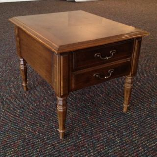 Ethan Allen Classic Manor End Table