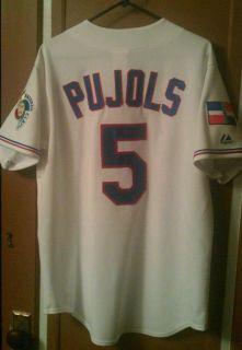 Albert Pujols Dominicana Mens L Jersey Angels Cardinals Dominican