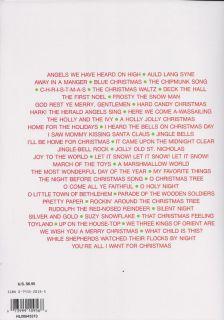 Christmas Favorites for Alto Saxophone Sheet Music Book