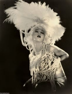 Photograph of Silent Film Actress Alla Nazimova Salome 1923