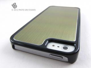 Gold Premium Aluminum Rear Hard Case Cover Apple iPhone 5 6th Gen