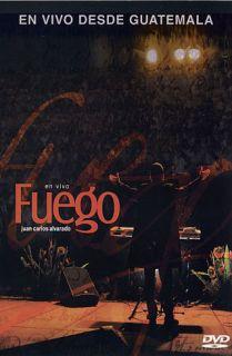 Fuego En Vivo DVD Juan Carlos Alvarado