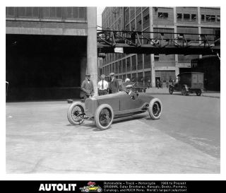 1923 Packard Race Car Indy 500 Factory Photo Alvan Macauley
