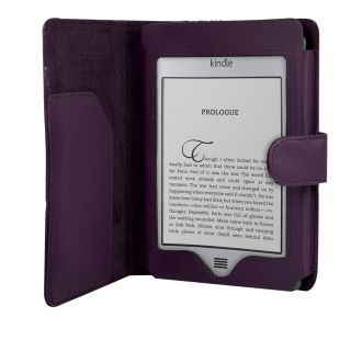 Leather Case Cover Wallet for  Kindle 4 Touch Paperwhite Kobo