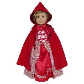 2pcs Luxury Doll Clothes Outfit Court Dress for 18American Girl New