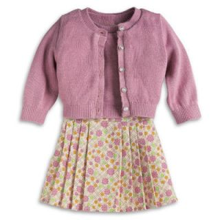 American Girl Kits Meet Outfit Sweater Cardigan and Skirt Included NEW
