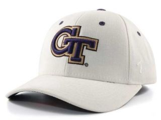 Georgia Tech Yellow Jackets GT DH Fitted Cap Hat 6 7 8