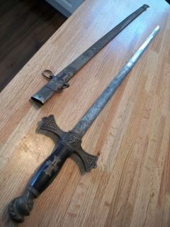 Antique Ames Manufacturing Company SWORD Chicopee, Massachusetts