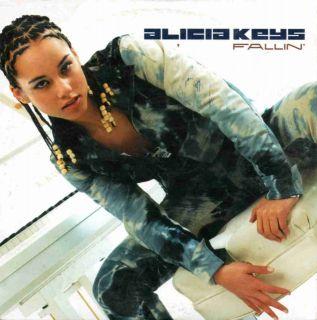 alicia keys fallin 2001 2 track single cd